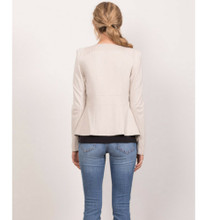 Women's Jackets   Persuit Jacket in Cream   WISH