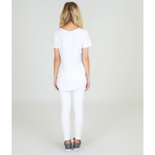 Women's Tops | Elwood S/S Tee in White | 3RD STORY