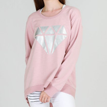 Ladies Tops | Newhaven Sweater Diamond | 3rd Story