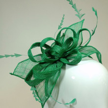 Women's Fascinators | Small Head Band Fascinator Green FH2159 | FAB