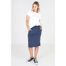 Olivia Skirt in Indigo by 3RD STORY*