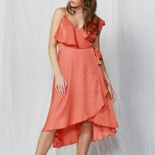 Women's Dress | Alexa Wrap Dress | FATE + BECKER