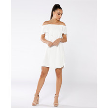 Women's Dresses | Champ De Mars Off Shoulder Dress | PIZZUTO