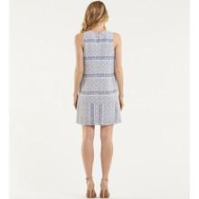 Women's Dresses Online | Blue Mosiac Shift Dress | AMELIUS