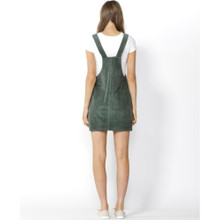 Women's Dresses Online | Candid Cord Pinafore in Rosemary | SASS
