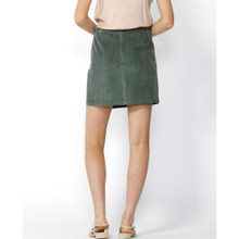 Women's Skirts | Candid Button Thru Cord Skirt in Rosemary | SASS