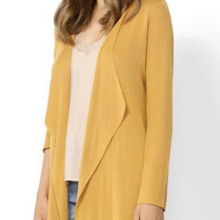 Women's Cardigans Australia | Close Encounter Longline Cardi in Saffron | SASS