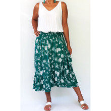 Women's Skirts Online | Havana Skirt in Summer Garden Party Print | NOOSA SOL
