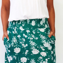 Women's Skirts Online | Alexa Skirt in Summer Garden Party Print | NOOSA SOL