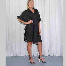 women's Dress | KL444 Dress in Black | KIIK LUXE