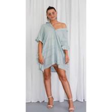 Women's Dresses | KL449 Dress in Mint | KIIK LUXE