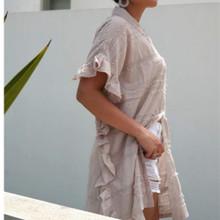Women's Dresses | KL449 Dress in Mocha | KIIK LUXE