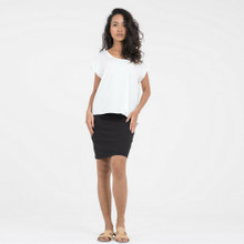 Women's Tops Australia | Greta Top by in White | DONNAH