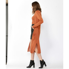 Online Jackets For Women | York Linen Blend Long Cardigan | FATE + BECKER
