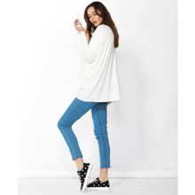 Ladies Tops Online | Ella Knit Tunic | BETTY BASICS