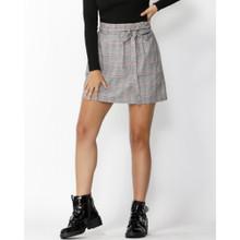 Women's Skirts | Exploration Check Mini Skirt | SASS