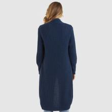 Online Jackets for Women | Grandpa Cardi in Navy | AMELIUS