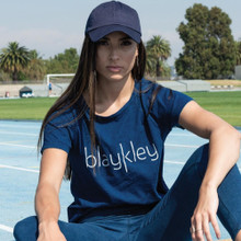 Women's Tops | Blaykley Tee in Indigo | BLAYKLEY