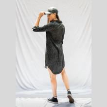 Women's Dresses   Scattered Boyfriend Shirt Dress   BLAYKLEY