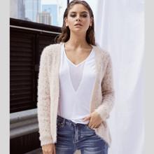 Jackets for Women   Farah Eyelash Cardi   SAINT ROSE