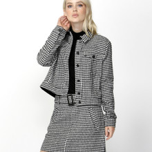 Jackets for Women | Cher Houndstooth Jacket | SASS