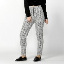 Women's Pants | Femme Fatale Jeans in Snake Print | SASS