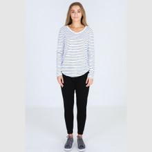 Women's Tops | Portsea Tee in Stripe | 3RD STORY