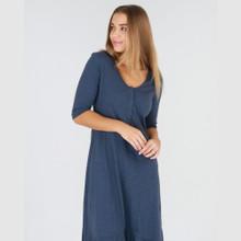 Ladies Dresses | Noosa Dress in Indigo | 3RD STORY