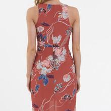 Ladies Dresses | Desert Merlot Dress | AMELIUS