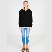 Sweaters for Women Online | Kendall Sweater in Black | 3RD STORY