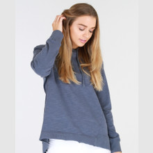 Sweaters for Women Online | Kendall Sweater in Steel Blue | 3RD STORY