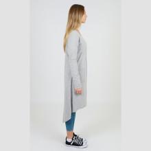 Sweaters for Women| Rosebud Cardi in Grey Marle| 3RD STORY