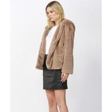 Women's Jackets |  Ellis Faux Fur Coat | FATE + BECKER