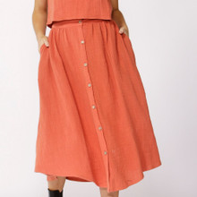 Women's Skirts | Lost Dreams Buttoned Skirt | SASS