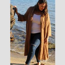 Women's Knits | Alaska Knit in Golden Rust | BIJOU