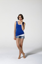 Women's Tops | Celine Scoop Tank | Betty Basics