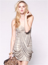 Bullion Cross-over Dress by SIGNATURE T
