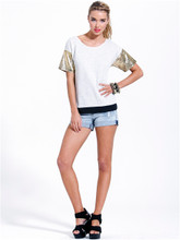 Jasmine Denim Short Vintage California by SASS