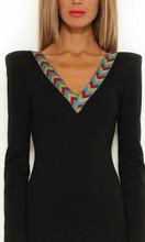 Ladies Dresses Online|Sparrow Stretch Long Sleeve Dress|ELLE ZEITOUNE