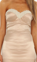Ladies Dresses Online|Morocha Pearl Beaded Dress|ELLE ZEITOUNE