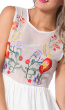 Ladies Dresses Online | Folklore Embroidered Dress | SASS