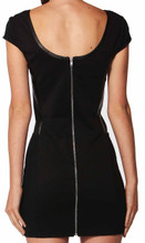 Spliced Body-Con Dress by SASS
