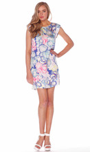 Ladies Dresses | Orchid Dreams Shift Dress | HONEY & BEAU