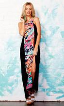 Ladies Dresses | Tropo Splice Maxi | SASS