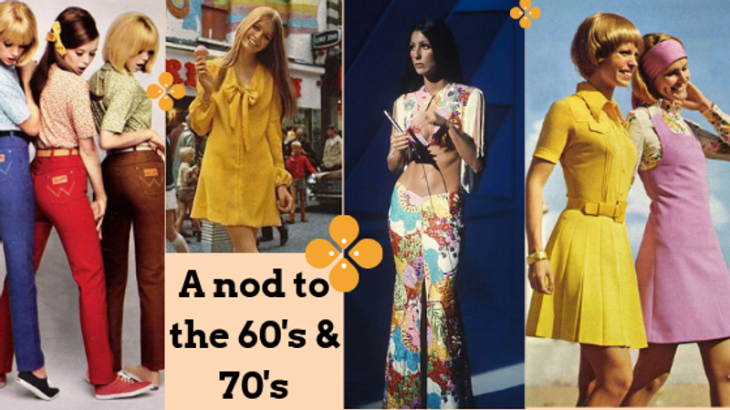 Trend Report: A Nod To The 60's & 70's