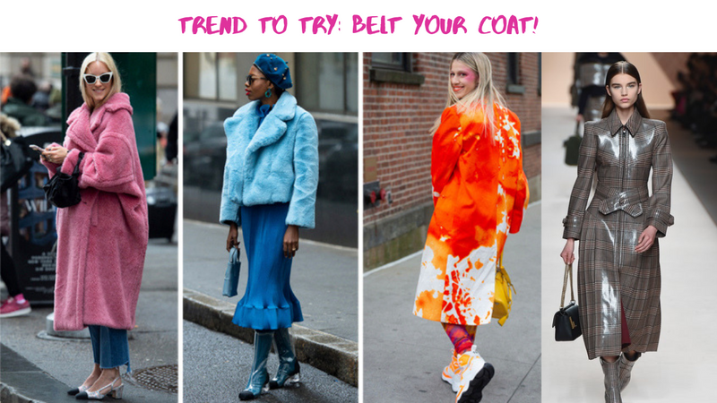 Trend To Try: Belt Your Coat