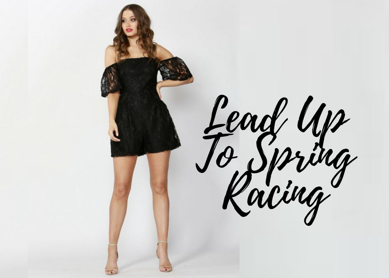 Lead Up To Spring Racing