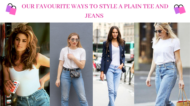 Our Favourite Ways To Style A Plain Top And Jeans
