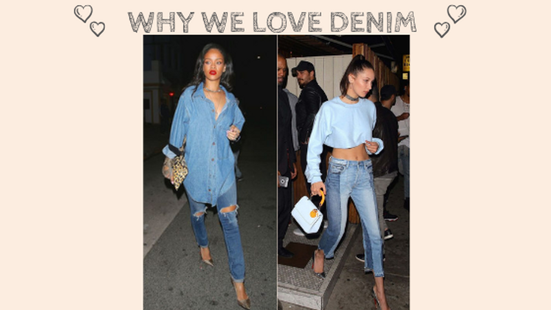 Why We Love Denim