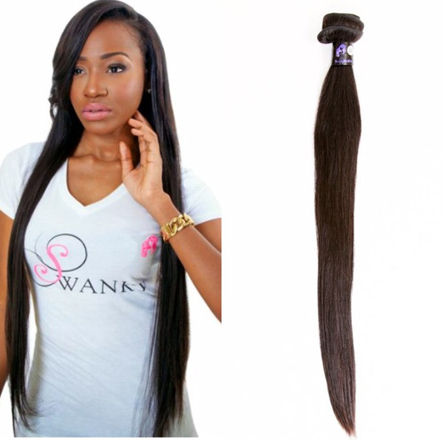 Our Peruvian Virgin Premium quality 100% virgin is unprocessed. Each bundle of virgin hair extensions weighs approximately 3.5 ounces. Our Peruvian Hair extensions has  has minimal to no shedding and does not tangle, all cuticles intact and unidirectional. Peruvian virgin hair extension is durable and long lasting especially when properly maintained. Our 100% virgin Peruvian hair extension is soft and smooth and will retain its natural luster and vitality. Our hair is not mixed with any synthetic fibers, the cuticles all lay in one direction which offers long lasting usage, no shedding and no tangling. The versatility of Peruvian hair gives you a natural wave, yet affords the ease of switching to straight when flat ironed.